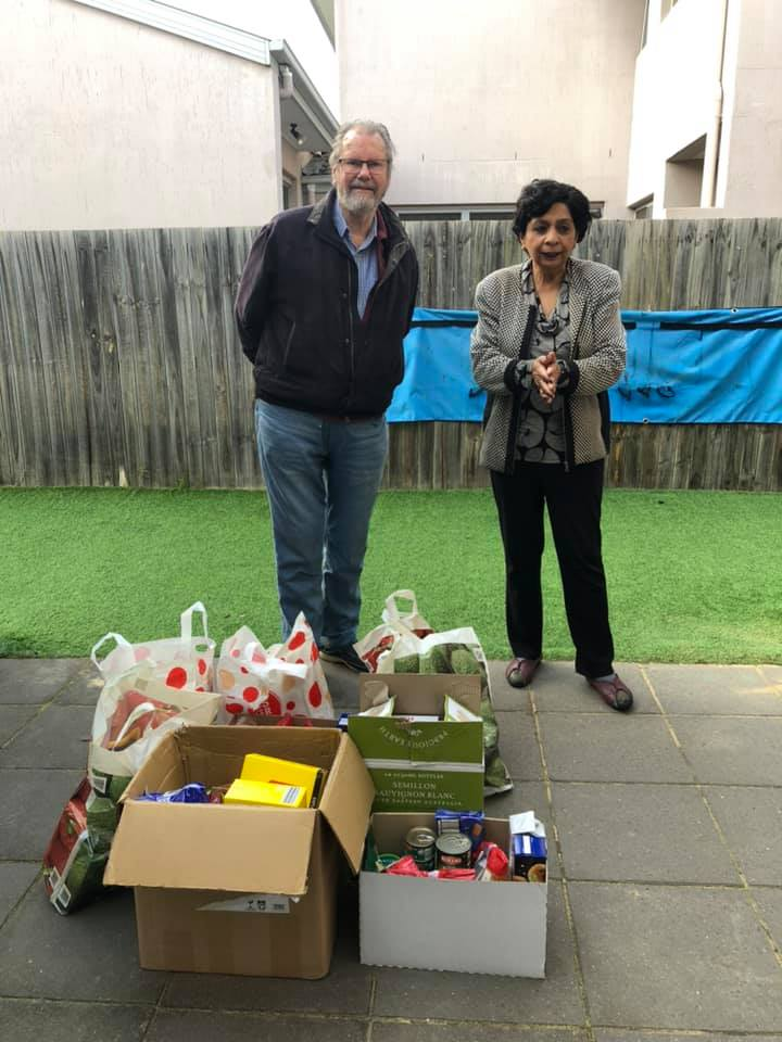 Free Grocery distribution to Homeless people